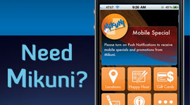 Mikuni iPhone Application