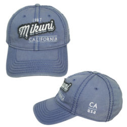 Mikuni Distressed Indigo Hat